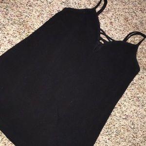 Black strappy Cami